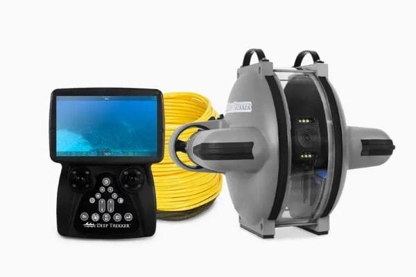 水中観測用小型ROV(音響測位付き)